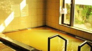 ラムネ温泉の内風呂
