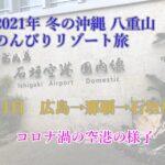 2021年1月 冬の沖縄・八重山でのんびりリゾート旅 1日目【アートホテル石垣島で三線ライブ堪能】