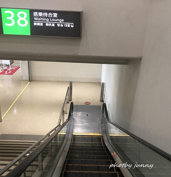 那覇空港1階搭乗待合室