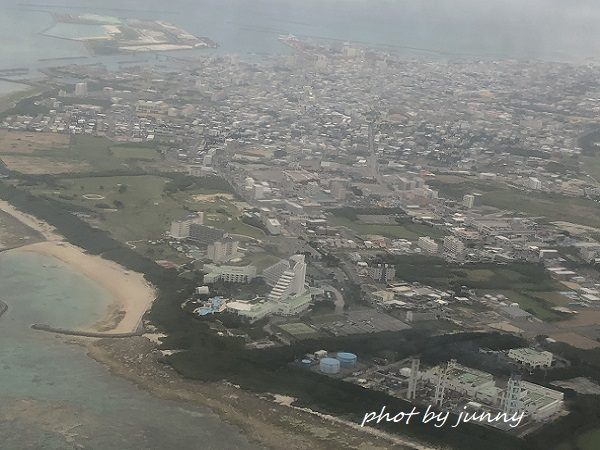 石垣島上空写真